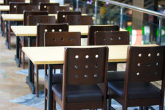 Cafeteria interior Stock Images