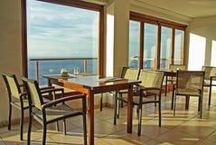 Cafeteria in Majorca Stock Image