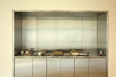 Cafeteria Tray Disposal Area Royalty Free Stock Photography