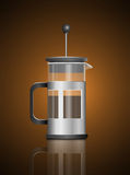 Cafetiere. Stock Photography