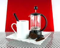 Cafetiere Royalty Free Stock Photo