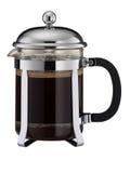 Cafetiere van Zwarte Koffie Royalty-vrije Stock Foto