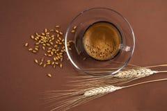 Caffè d'orzo przeciwu cereale Obrazy Stock