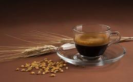 Caffè d'orzo przeciwu cereale Fotografia Stock