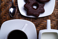 Caffè 02 Immagine Stock