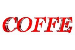 caffè 3D Immagini Stock Libere da Diritti