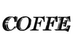 caffè 3D Fotografie Stock