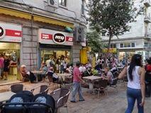 Caffè all'aperto di Gerusalemme Fotografia Stock