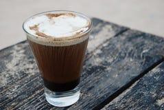 Caffè alla spiaggia Fotografie Stock