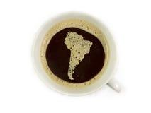 Caffè in amerika del sud Immagini Stock