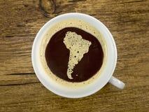 Caffè in amerika del sud Fotografie Stock Libere da Diritti