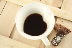 Caffè amoroso Immagine Stock