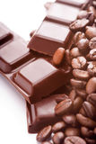 Caffè & cioccolato Fotografia Stock Libera da Diritti