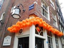 CAFFÈ ANTIVARI A AMSTERDAM, OLANDA Fotografie Stock Libere da Diritti