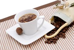 Caffè arabo Fotografie Stock Libere da Diritti