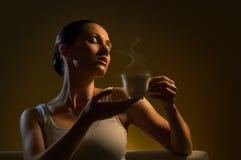 Caffè aromatico Fotografie Stock