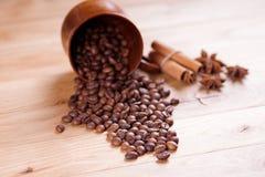 Caffè arrostito Fotografie Stock