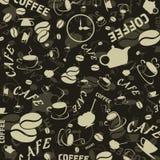 Caffè background3 Fotografia Stock Libera da Diritti