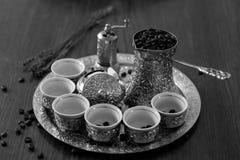 Caffè bosniaco Immagine Stock