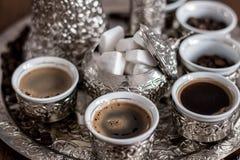 Caffè bosniaco Fotografia Stock