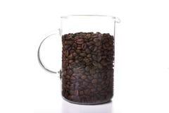 Caffè in brocca di vetro Fotografie Stock Libere da Diritti