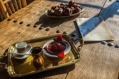 Caffè in caffettiera Fotografia Stock