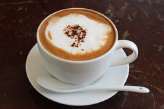 Caffè caldo Fotografie Stock Libere da Diritti