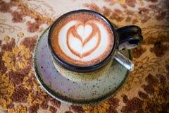 Caffè caldo Fotografia Stock