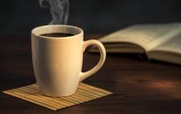 Caffè caldo Fotografie Stock