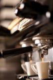 Caffè caldo del caffè espresso! Fotografia Stock Libera da Diritti