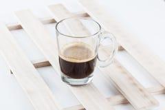 Caffè caldo del caffè espresso Immagine Stock