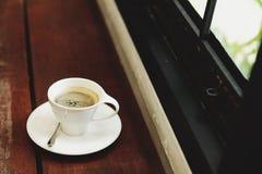 Caffè caldo del caffè espresso fotografia stock