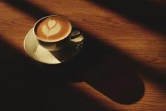 Caffè caldo del latte Fotografia Stock