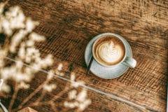 Caffè caldo Latte fotografia stock libera da diritti