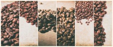 Caffè caldo Turco del caffè e tazza di caffè caldo con i chicchi di caffè Immagini Stock Libere da Diritti
