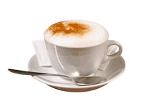 Caffè-cappuccino Fotografia Stock
