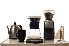 Caffè che fa stazione Immagine Stock Libera da Diritti