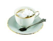 Caffè con crema Fotografia Stock