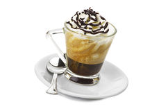 Caffè con crema Immagine Stock Libera da Diritti