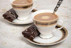 Caffè con la crema. Immagini Stock Libere da Diritti