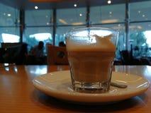 Caffè con latte Immagine Stock