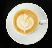Caffè con latte Immagine Stock Libera da Diritti