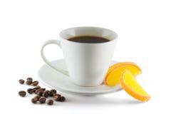 Caffè con marmellata d'arance Immagini Stock Libere da Diritti