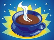Caffè cosmico Fotografia Stock