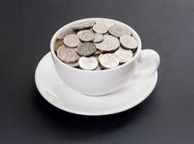 Caffè costoso Fotografia Stock Libera da Diritti