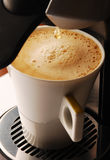 Caffè del Cappuccino Fotografia Stock