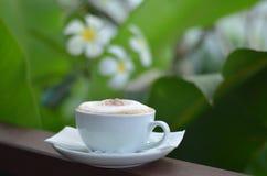 Caffè del cappuccino immagini stock