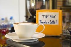 Caffè del cappuccino Fotografia Stock Libera da Diritti