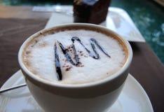 Caffè del cappuccino Immagine Stock Libera da Diritti