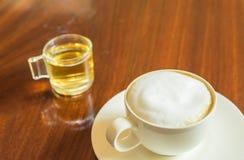 Caffè del cappuccino Immagine Stock